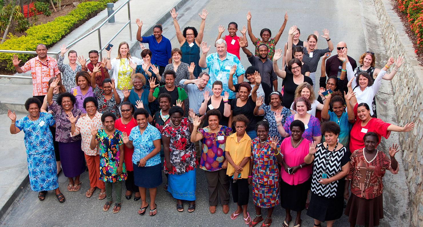 Participants at the workshop at Gateway Hotel in Port Moresby in May 2016. Photo: DFAT, PNG Post.
